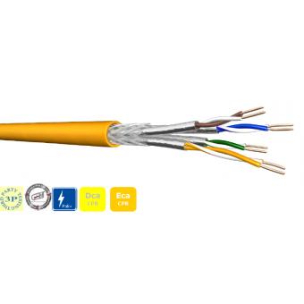 DCA 4x2xAWG22 S-FTP CAT 7A 1000 MHz LSZH (1000m Trommel)