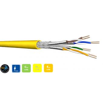 CCA 4x2xAWG22 S-FTP CAT 7A 1000 MHz LSZH (1000m Trommel)