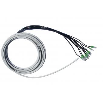 Anschlusskabel 8xRJ45 ISDN - glatt