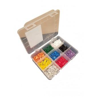 9 Farben Box à 50 Stk