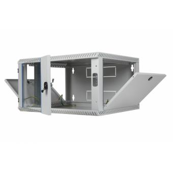 4HE 240x600x400mm (HxBxT) Wandschrank Einteilig TOP