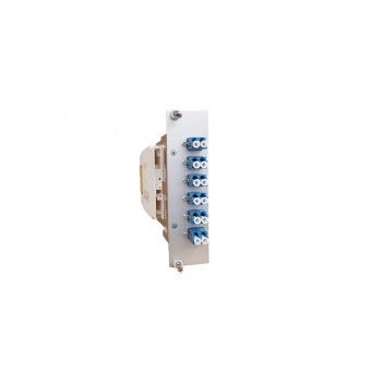 6xLC SM (3xLCD) vorkonfektioniert Einschubmodul 3HE/ 7TE