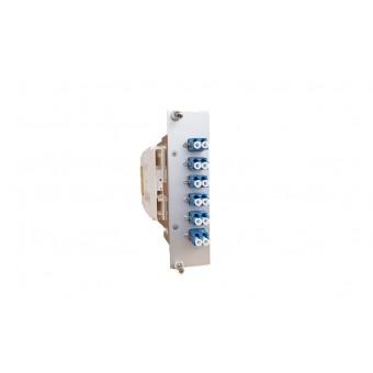 12xLC SM (6xLCD) spleissbereit Einschubmodul 3HE/ 7TE