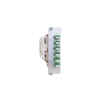 12xLC SM APC (6xLCD) spleissbereit Einschubmodul 3HE/ 7TE