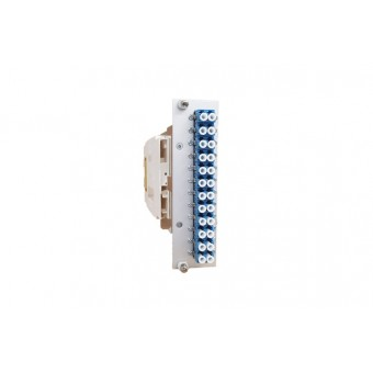 24xLC SM (12xLCD) vorkonfektioniert Einschubmodul 3HE/ 7TE