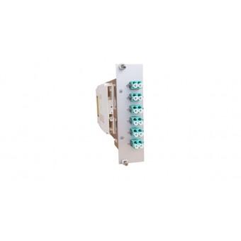 6xLC OM3 (3xLCD) spleissbereit Einschubmodul 3HE/ 7TE