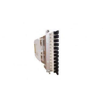 6xE2000 OM3 vorkonfektioniert Einschubmodul 3HE/ 7TE