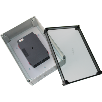 Spleissbox Transparent IP66