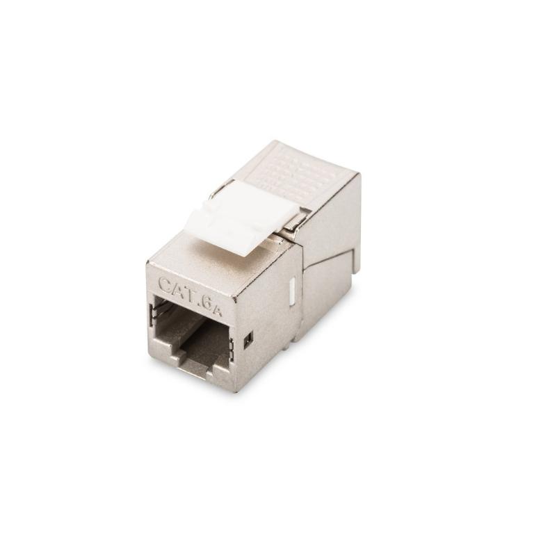 Modulare Cat.6A Anschlusseinheit RJ45 180°
