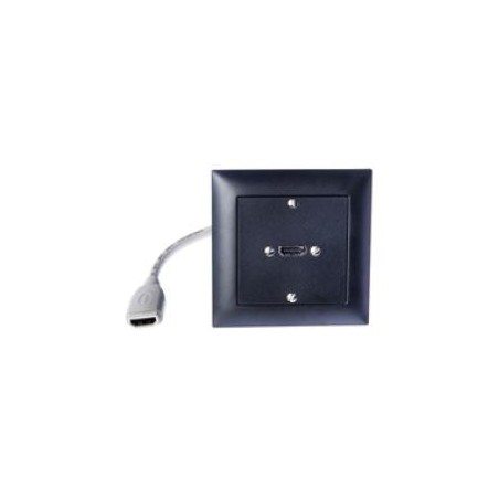 UP HDMI/Peitsche, schwarz