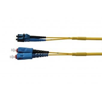Duplex LC PC-LC PC, SM, 9/125μm, Fig. 0