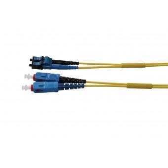Duplex LC PC-SC PC, SM, 9/125μm, Fig. 8