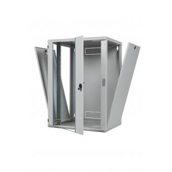 12HE 600x600x600mm (HxBxT) Wandschrank Einteilig TOP
